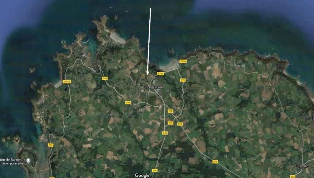 Location Pougasnou vue sur mer
